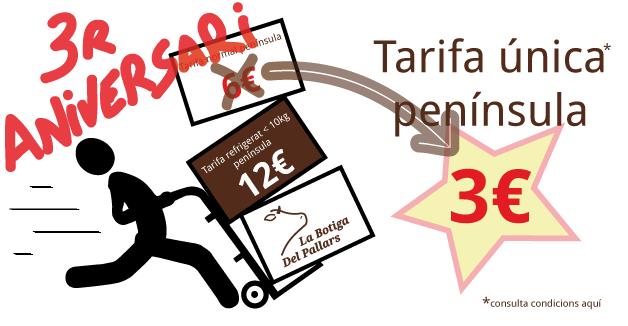 Tarifa única península 6€